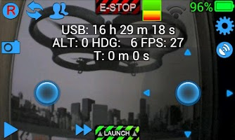 Screenshot of ARDrone Flight