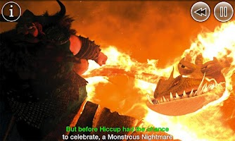Screenshot of How To Train Your Dragon