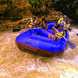 Rafting at Citarik West Java by Siswo Budiono - Sports & Fitness Watersports (  )