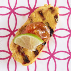 Tandoori Chicken Bites with Mango Chutney
