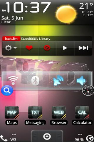 a openHome Theme Club Carbon