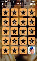 Screenshot of Wrestling Stars Memory Game
