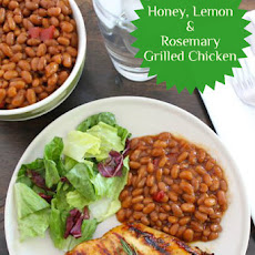 Honey, Lemon & Rosemary Grilled Chicken