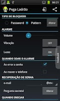 Screenshot of Alarm Anti Theft Screen Lock
