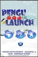 Screenshot of Pengu Launch