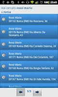Screenshot of Elenco Telefonico free