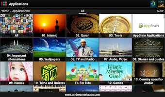 Screenshot of Best islamic apps