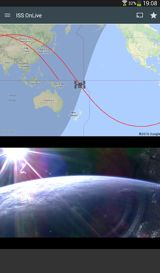 ISS onLive: Live Earth cameras Screenshot 15