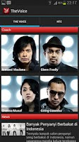Screenshot of The Voice Indonesia by HTC
