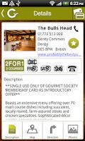 Screenshot of Gourmet Society