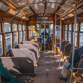 Cápsula do tempo by Bruno Alx - Transportation Trains ( vintage, electric, electrico, transportation, travel, lisbon, portugal, lisboa )