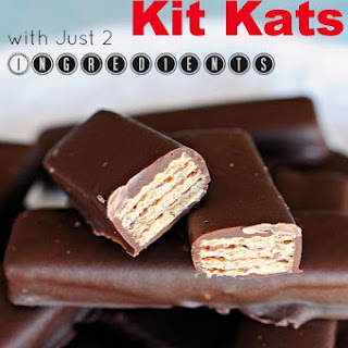 Easy Homemade Kit Kats