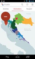 Screenshot of Croatia.hr - travel guide