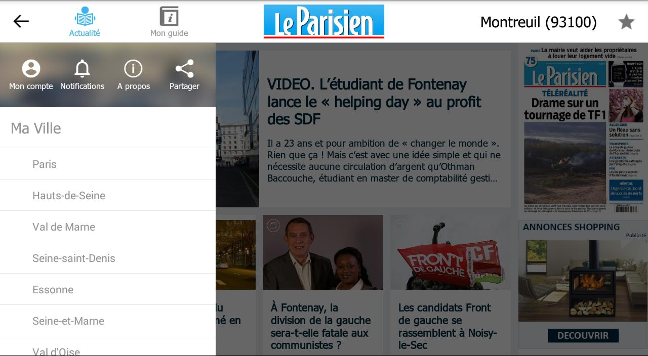 Le Parisien Ma Ville - Info Screenshot 6
