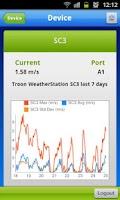 Screenshot of Live Monitoring Logic Energy
