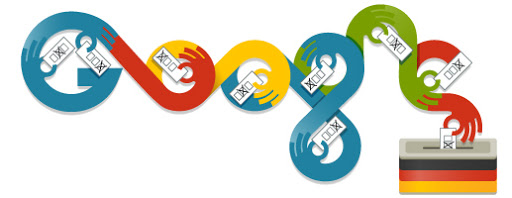 Google Doodle German Elections 2013