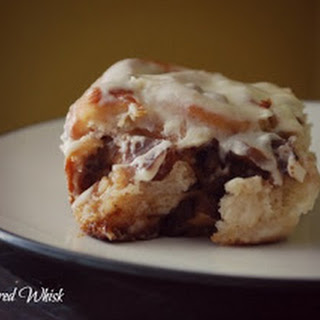 Caramelized Apple Cinnamon Rolls (The Gingered Whisk)