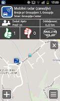 Screenshot of Prometni Center