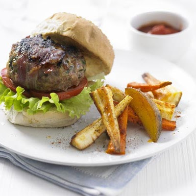 Lemon & Thyme Turkey Burgers