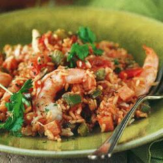 Cajun Prawn And Crab Jambalaya