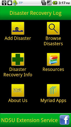 Disaster Recovery Log