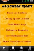 Screenshot of Halloween Party Recipes