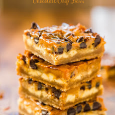 Dulce de Leche Coconut Chocolate Chip Bars