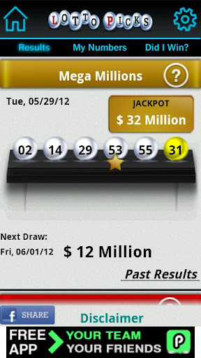 Lotto Picks US lottery results