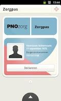 Screenshot of PNOzorg