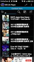 Screenshot of WiFi Oh Player