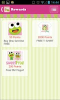Screenshot of sweetFrog