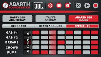 Screenshot of ABARTH SOUNDSYSTEM