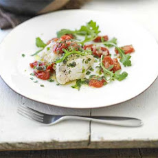 Fish Parcels With Tomatoes & Capers