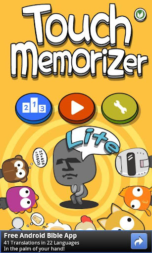 TouchMemorizer Lite free