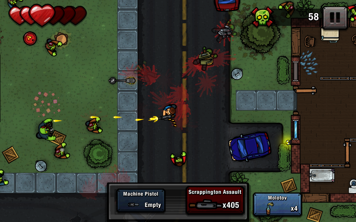Zombie Scrapper Screenshot 0
