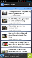 Screenshot of Nieuws Kranten