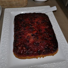 Easy Upside-Down Berry Cake