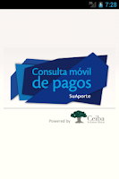 Screenshot of Consulta Móvil de Pagos