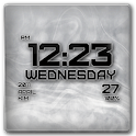 Font Clock icon