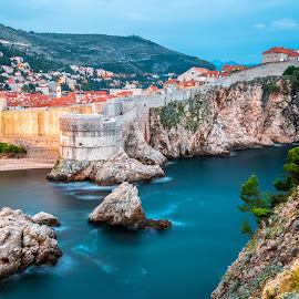 Dubrovnik by Stephen Bridger - City,  Street & Park  Vistas ( europe, dubrovnik, old town, croatia, travel, walled city, travel photography )