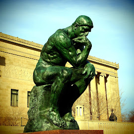 The Thinker by Rodin by John Hale - Buildings & Architecture Statues & Monuments