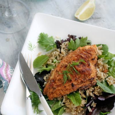 southern style pan fried catfish martha stewart lemon wedge coarse ...