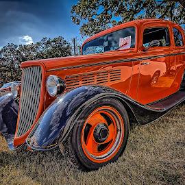 Cowboy Sedan by Ron Meyers - Transportation Automobiles
