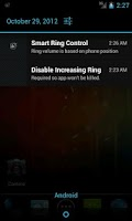 Screenshot of Disable Increasing Ring