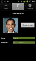 Screenshot of Fake the Call Lite
