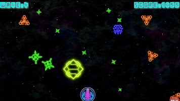 Screenshot of Neon Wave - Space War Shooter