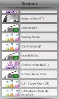 Screenshot of Italia Radio by Tunin.FM