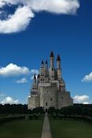 Screenshot of castle and sky LWallpaper