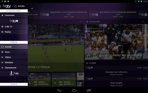 bein-sports for android screenshot