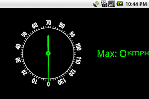 Screenshot of My Speed Meter